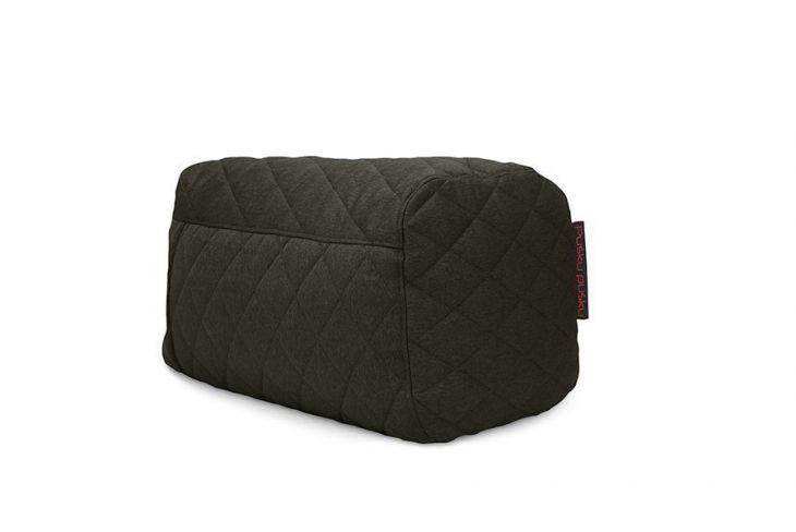 Sitzsack Plus Quilted Nordic Grau