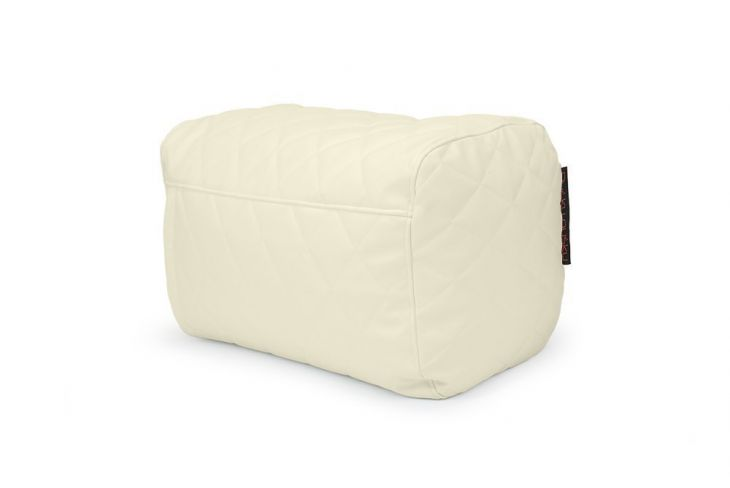 Sitzsack Plus Quilted Outside Beige
