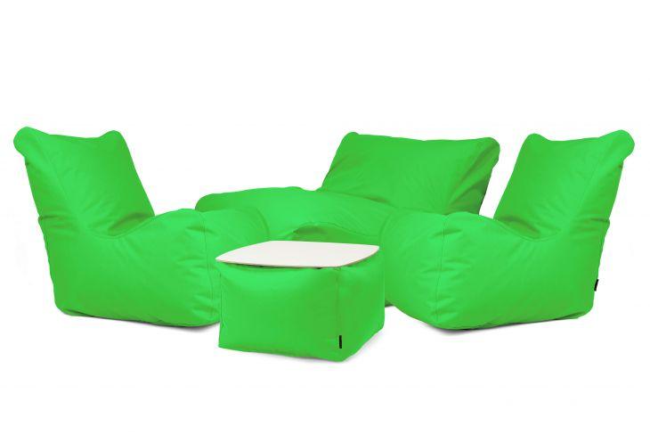 Sitzsack Set - Cheerful OX Apfelgrün