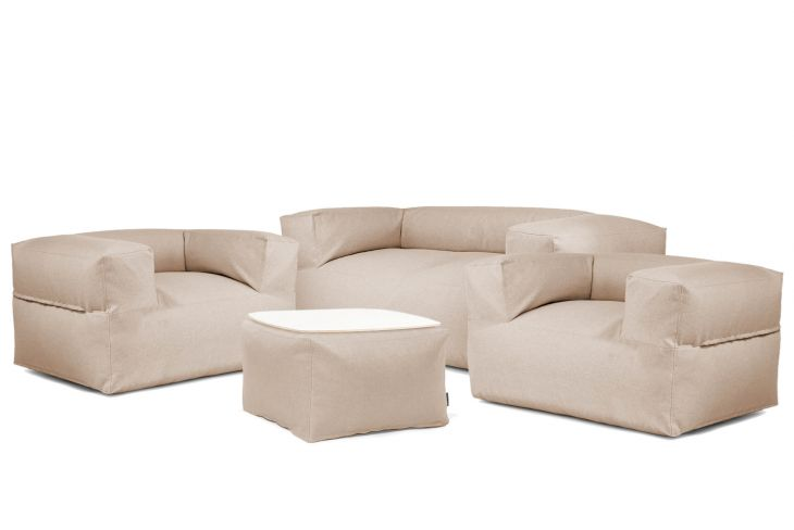 Sitzsack Set - Dreamy Riviera Braun