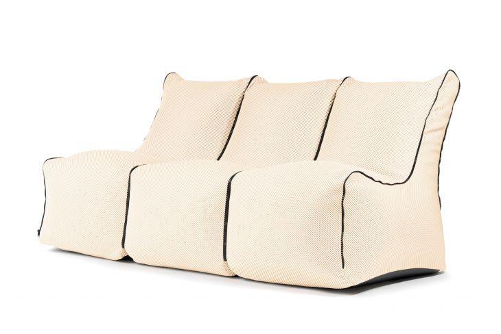 Set - Set Seat Zip 3 Seater Capri Beige