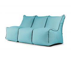 Sėdmaišių komplektas - Set Seat Zip 3 Seater Capri Turquoise