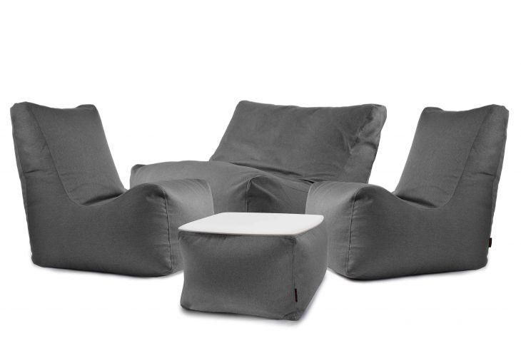 Sitzsack Set - Happy Nordic Grau