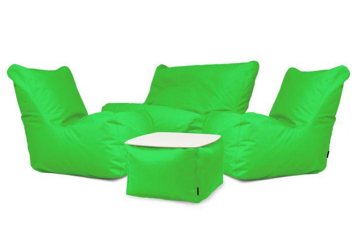 Sitzsack Set - Happy OX Apfelgrün