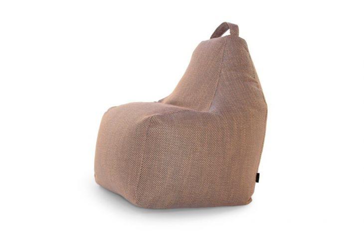 Sitzsack Bezug Play Sideway Bronze