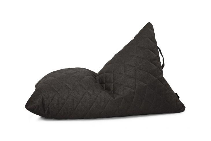 Sitzsack Bezug Razzy Quilted Nordic grau