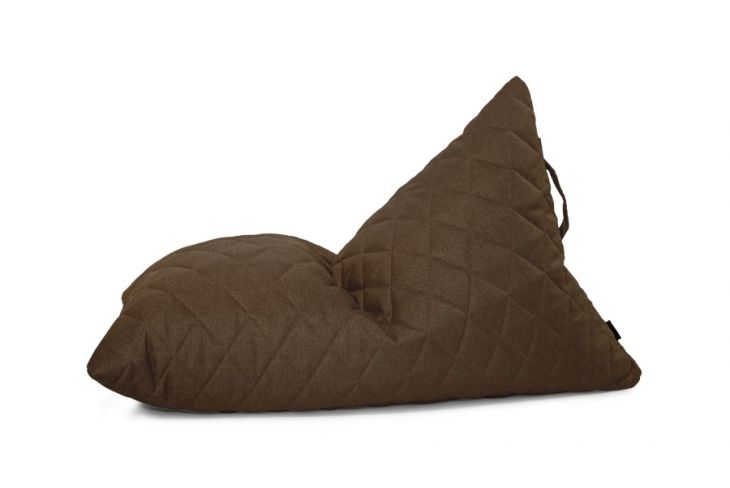 Bean bag Razzy Quilted Nordic Chocolate