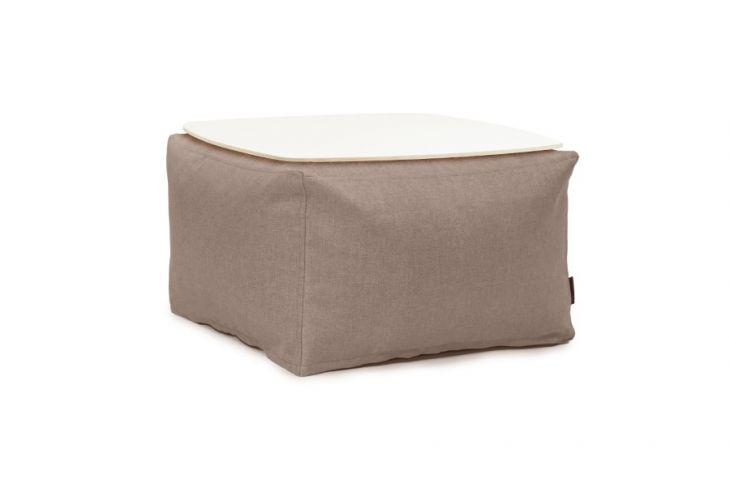 Sitzsack Set - Soft Table 60 Riviera Braun