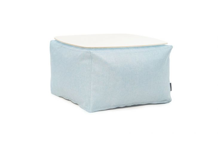 Sitzsack Set - Soft Table 60 Riviera Aquamarine