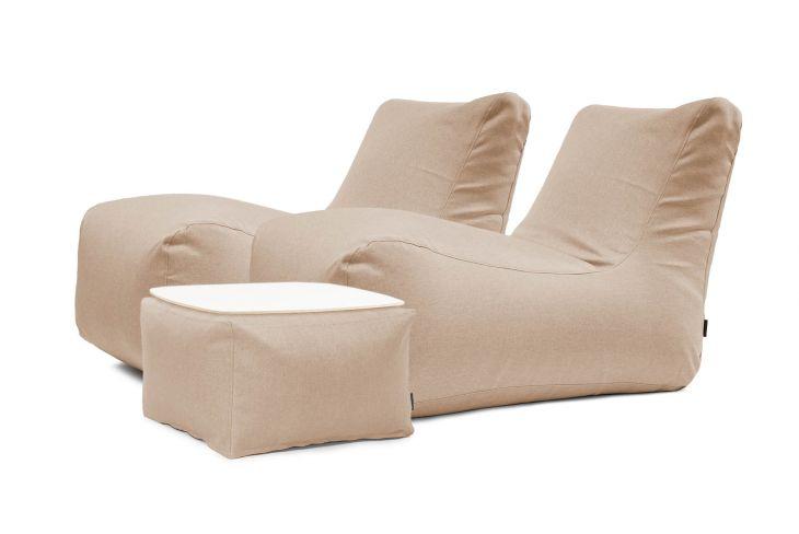 Sitzsack Set - Restful Riviera Braun
