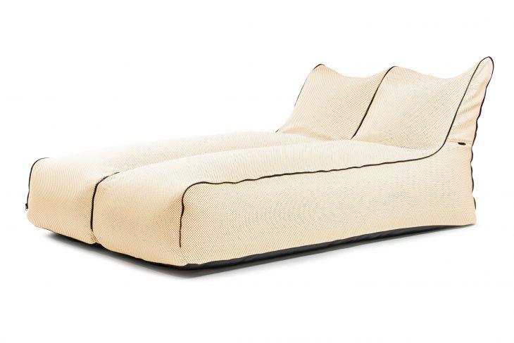 Sėdmaišių komplektas - Set Sunbed Zip 2 Seater Capri Beige