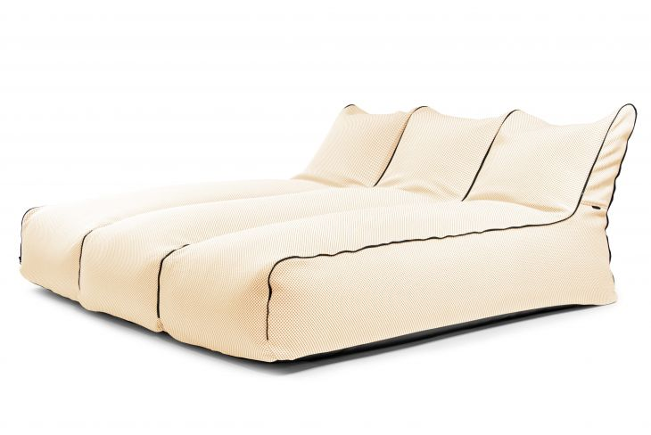 Sėdmaišių komplektas - Set Sunbed Zip 3 Seater Capri Beige