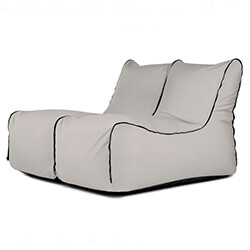 Sitzack Set - Lounge Zip 2 Seater Colorin