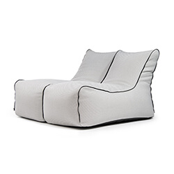 Sitzack Set - Lounge Zip 2 Seater Capri