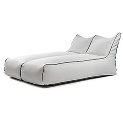 Sėdmaišių komplektai Sunbed Zip 2 Seater