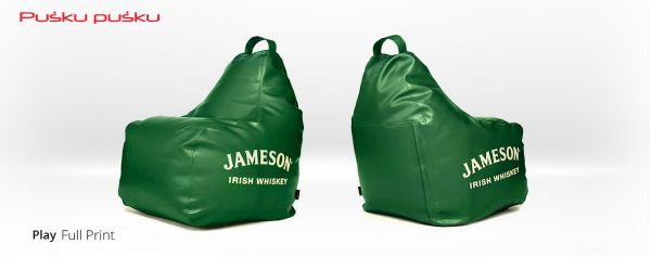Full print on JAMESON bean bag