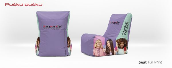 Full print on CASCADA bean bag