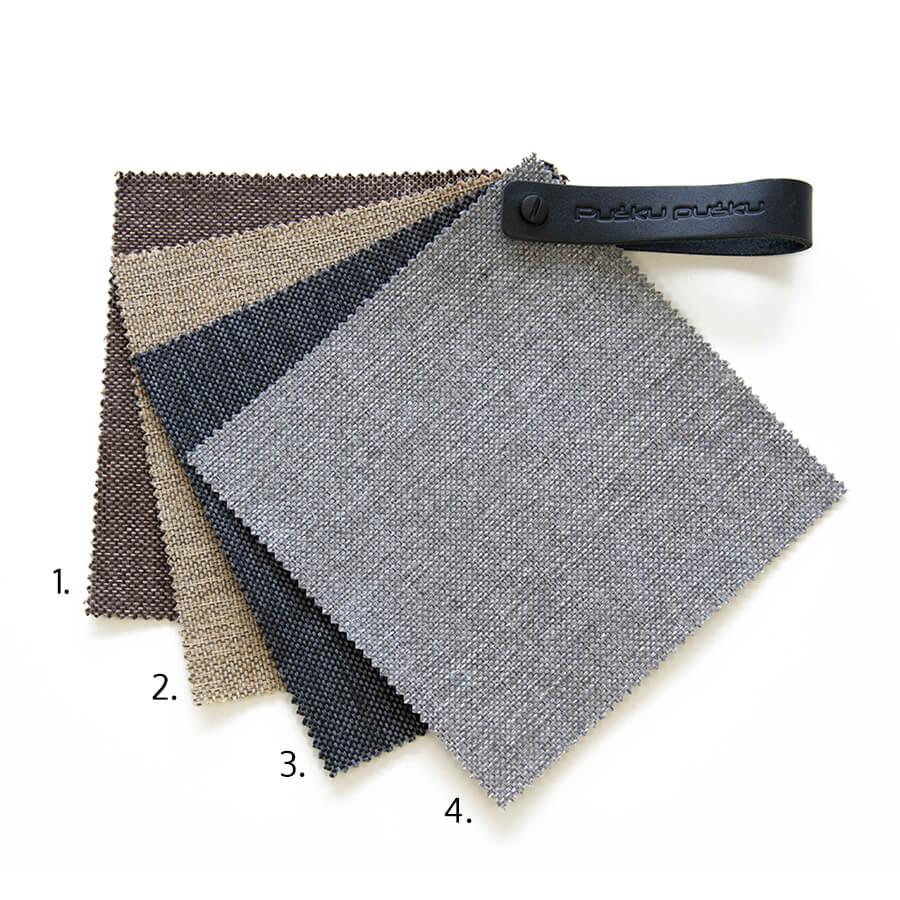 Home-behagliches Material für ruhige Räume.