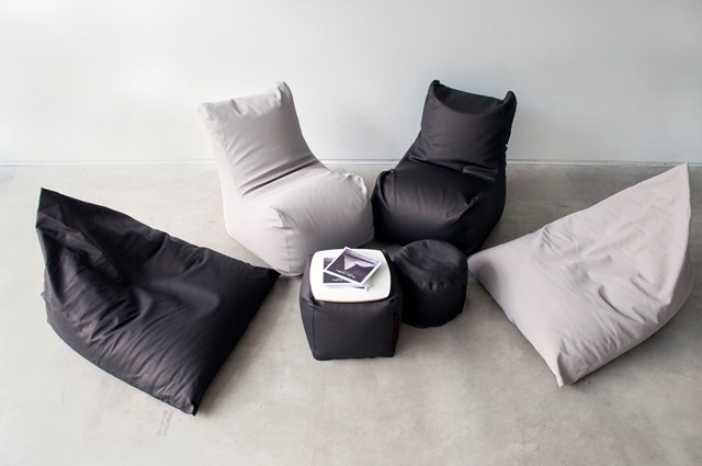 Merveilleux Pusku Pusku Bean Bags: Razz, Seat, Soft Table 40, Mini